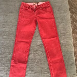 Red Paige jeans
